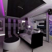 пример светлого дизайна гостиной комнаты 16 кв.м картинка