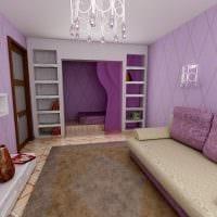 вариант светлого дизайна гостиной комнаты 16 кв.м картинка