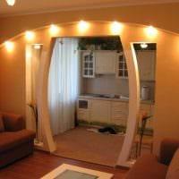 пример светлого дизайна современной квартиры 65 кв.м картинка