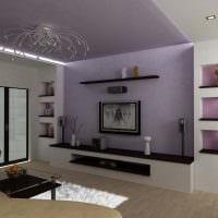 пример необычного стиля гостиной комнаты 16 кв.м фото