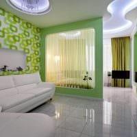 вариант необычного дизайна гостиной 16 кв.м фото