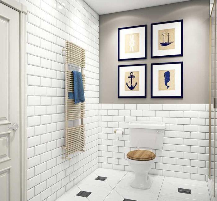 идея светлого декора комнаты в стиле современная классика