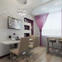 вариант необычного декора современной квартиры 50 кв.м картинка