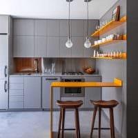 вариант яркого интерьера современной квартиры 65 кв.м картинка