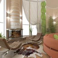 идея красивого стиля квартиры со вторым светом фото