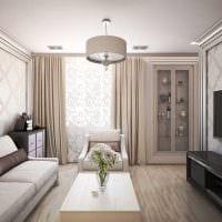 идея яркого декора комнаты в стиле современная классика картинка
