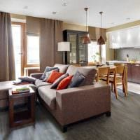 вариант красивого интерьера квартиры 50 кв.м фото