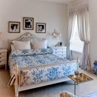 идея необычного интерьера спальни в белом цвете картинка