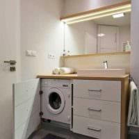 идея необычного интерьера ванной 2.5 кв.м картинка