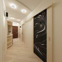 идея светлого дизайна квартиры в светлых тонах в современном стиле картинка
