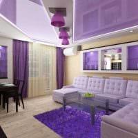 вариант красивого интерьера квартиры 50 кв.м картинка