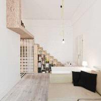 идея яркого декора современной квартиры 70 кв.м фото