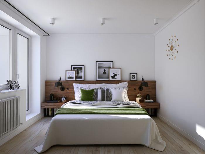 вариант красивого интерьера комнаты в светлых тонах в современном стиле