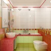 идея современного дизайна ванной 2017 картинка