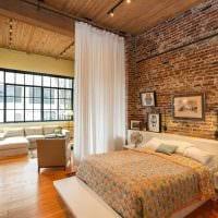 идея красивого интерьера белой спальни картинка