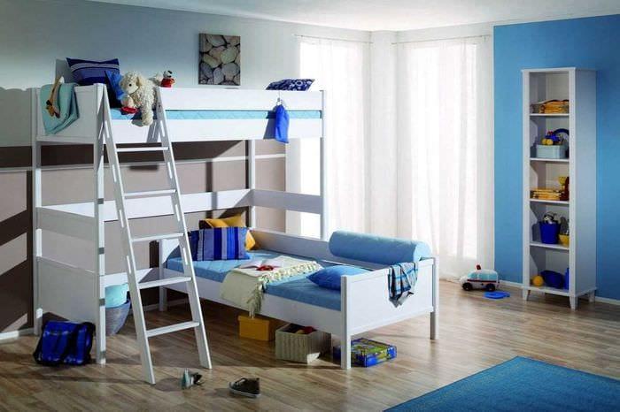 75 идей дизайн детской комнаты для двух мальчиков с фото