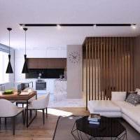 идея необычного интерьера квартиры в стиле современная классика картинка