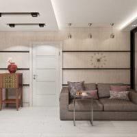 вариант светлого стиля квартиры 70 кв.м картинка