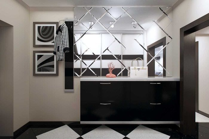 пример яркого интерьера квартиры 70 кв.м