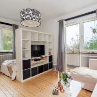 вариант необычного дизайна гостиной комнаты 16 кв.м картинка