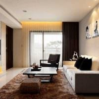 вариант яркого стиля гостиной комнаты в современном стиле картинка