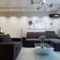 пример светлого декора современной квартиры 50 кв.м картинка