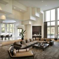 идея необычного стиля квартиры со вторым светом картинка