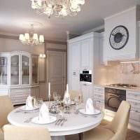 вариант красивого стиля комнаты в стиле современная классика картинка
