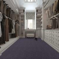 идея красивого интерьера гардеробной картинка