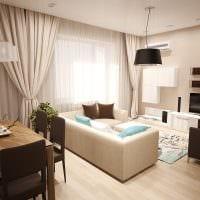 пример светлого интерьера гостиной 16 кв.м картинка