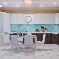 пример необычного декора квартиры 65 кв.м картинка