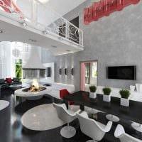 вариант красивого интерьера квартиры со вторым светом картинка