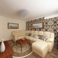 пример красивого декора современной квартиры 50 кв.м картинка