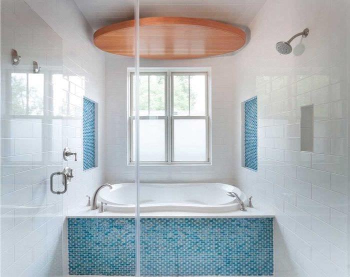 идея яркого дизайна ванной 2020