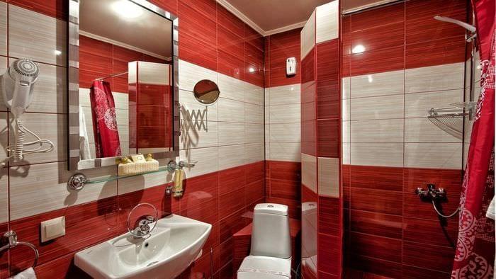 Дизайн ванной 5 кв. м: материалы, варианты оформления - 75 фото