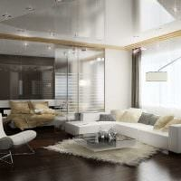 пример необычного стиля гостиной 19-20 кв.м фото