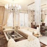 идея яркого дизайна квартиры в стиле современная классика картинка