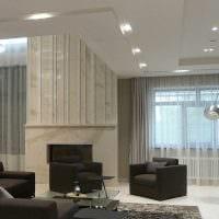 идея яркого стиля квартиры со вторым светом картинка