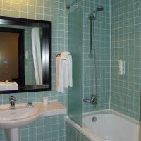 идея современного интерьера ванной комнаты 4 кв.м картинка