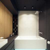 пример яркого интерьера ванной комнаты 5 кв.м картинка