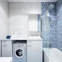пример светлого интерьера ванной 5 кв.м картинка