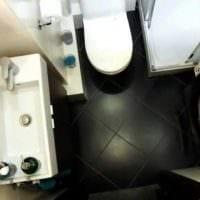 идея яркого стиля ванной комнаты 2.5 кв.м картинка