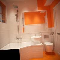 пример необычного стиля ванной 5 кв.м картинка