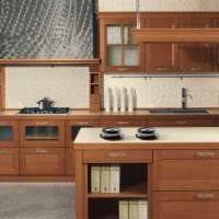 идея сочетания яркого коричневого цвета в интерьере гостиной фото
