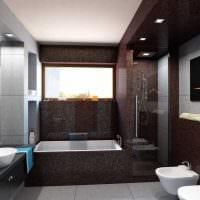 идея сочетания светлого коричневого цвета в стиле гостиной фото