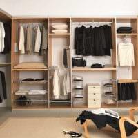 идея необычного стиля гардеробной комнаты картинка