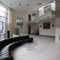идея необычного стиля дома со вторым светом картинка