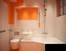 вариант необычного интерьера ванной комнаты 3 кв.м картинка