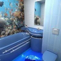 вариант необычного стиля ванной комнаты 4 кв.м фото