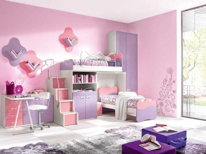 пример красивого декора современной квартиры 65 кв.м